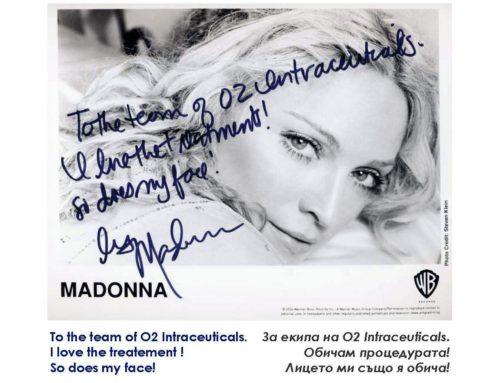 Процедурата за лице на Мадона – Intraceuticals